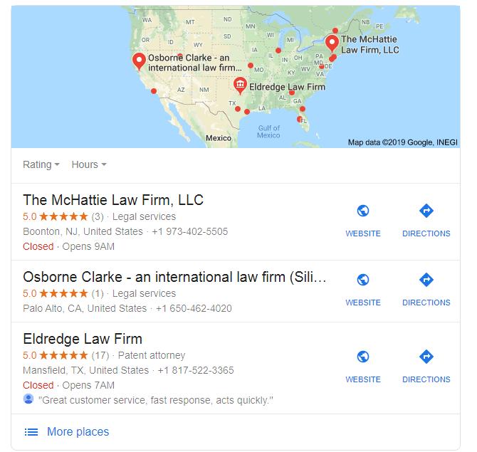 Low Frim Google My Business